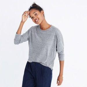 Madewell Rivet & Thread Grey Long-Sleeve Tee XS